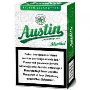 Acheter Cigarettes Austin Menthol pas chères en ligne