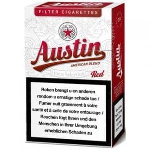 Acheter Cigarettes Austin Rouge pas chères en ligne