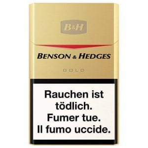 Achetez des Cigarettes Benson and Hedges Gold pas chères en ligne