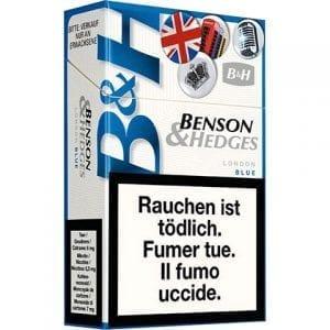 Cigarettes Benson and Hedges London Bleue pas chères en ligne