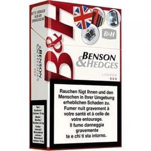 Vente de Cigarettes Benson and Hedges London Red en ligne
