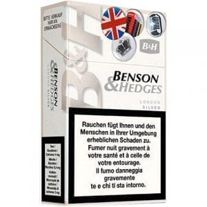 Achat de Cigarettes Benson and Hedges London White pas chères