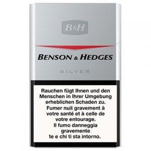 Achetez Cigarettes Benson and Hedges Silver pas chères en ligne