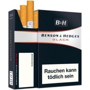 Achetez Cigarettes Benson and Hedges Black pas chères en ligne