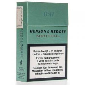 Achat de Cigarettes Benson and Hedges Menthol pas chères en ligne