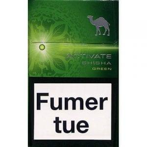 Achat de Cigarettes Camel Activate Shisha Vert pas chères en ligne