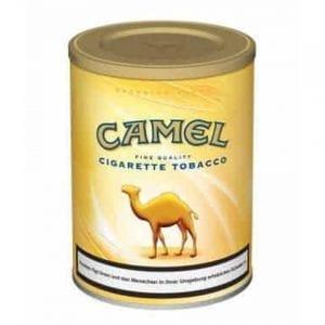 Achat de pots de Tabac Camel jaune