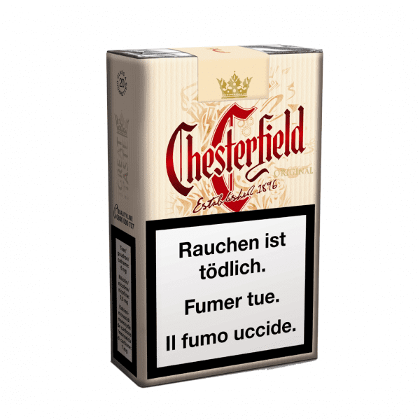 Acheter des Cigarettes Chesterfield Original Soft Pack en ligne
