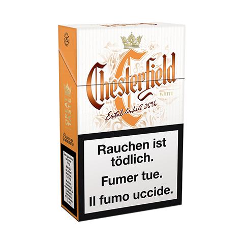 Acheter des Cigarettes Chesterfield White pas chères