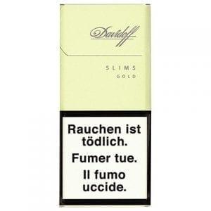 Achat de Cigarettes Davidoff Gold Slims en ligne