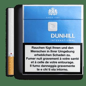 Cartouches de Cigarettes de Dunhill International bleue
