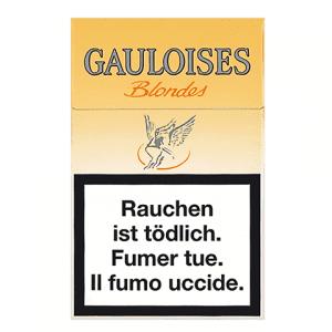 Vente en ligne de Cigarettes Gauloises Blondes jaunes