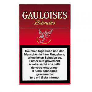 Achat de Cigarettes Gauloises blondes rouges pas chères