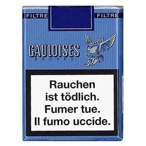 Acheter des Cigarettes Gauloises brunes avec filtres pas chères