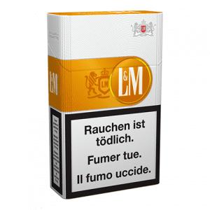 Vente de Cigarettes LM orange pas chères