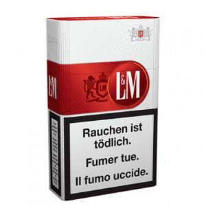 cartouches de Cigarettes LM rouge