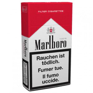 Bureau de tabac Cigarettes Marlboro 100s