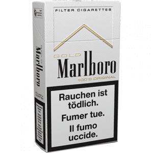 Vente de Cigarettes Marlboro Gold 100s en ligne