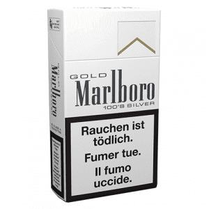Achat de Cigarettes Marlboro Gold Silver 100s en ligne