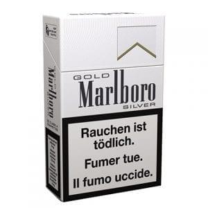Acheter des Cigarettes Marlboro Gold Silver pas chères