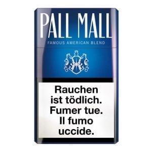 Acheter des Cigarettes Pall Mall bleue pas chères