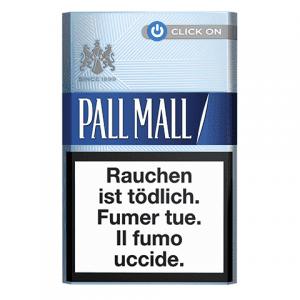Achat en ligne de Cigarettes Pall Mall bleue Click On