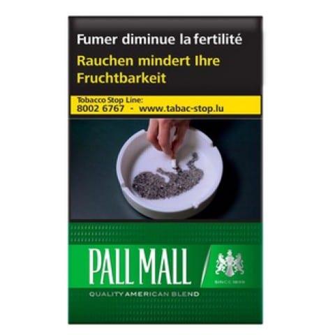 Achat de Cigarettes Pall Mall Menthol pas chères
