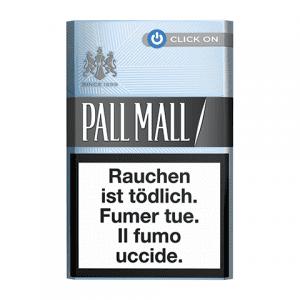 Cartouches de Cigarettes Pall Mall Silver Click On en ligne