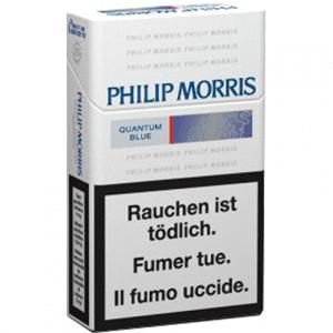 Cartouches de Cigarettes Philip Morris Quantum Bleue pas chères