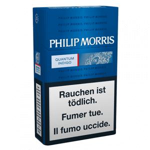 Acheter des cartouches de Cigarettes Philip Morris Quantum Indigo pas chères