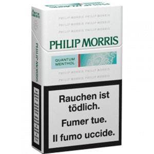 Vente en ligne de Cigarettes Philip Morris Quantum Menthol