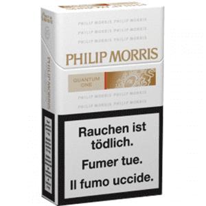 Cartouches de Cigarettes Philip Morris Quantum One pas chères