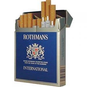Cartouches de Cigarettes Rothmans International pas chères