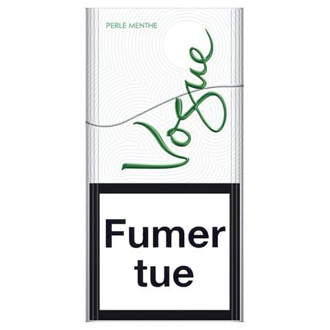 Achat de Cigarettes Vogue Perle Menthe en ligne