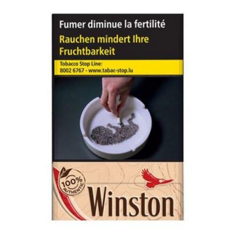 Acheter des Cigarettes Winston Authentic pas chères