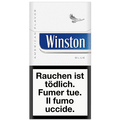 Vente en ligne de Cigarettes Winston bleue 100s