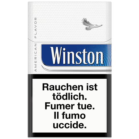 Acheter des cartouches de Cigarettes Winston bleue