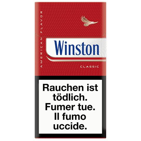 Vente de Cigarettes Winston Classic 100s pas chères