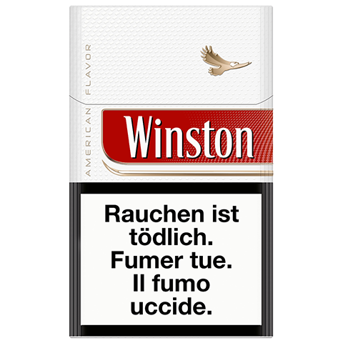 Vente en ligne de Cigarettes Winston rouge