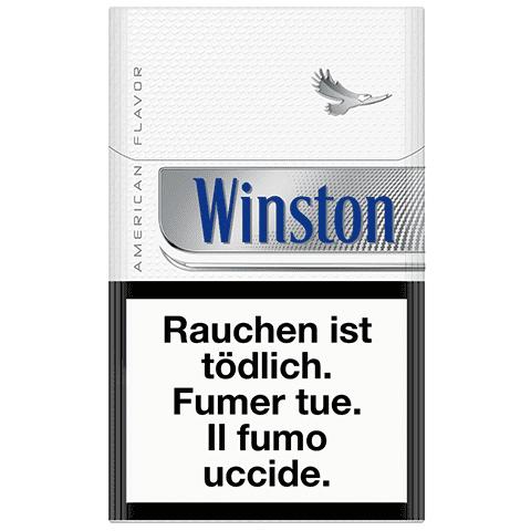 Achat en ligne de Cigarettes Winston Silver