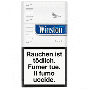 Cartouches de Cigarettes Winston SuperSlims bleue pa chères