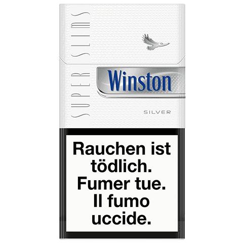 Acheter des Cigarettes Winston SuperSlims Silver
