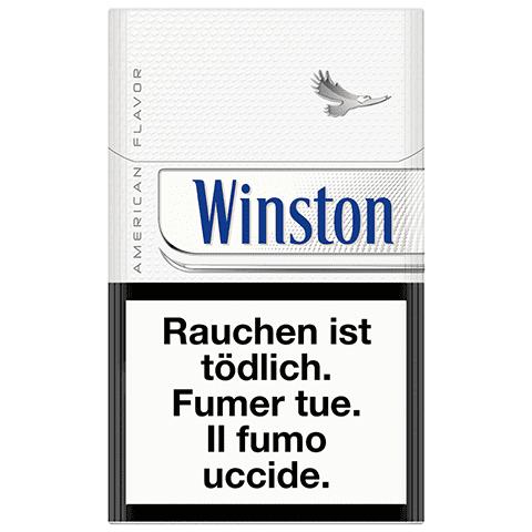 Vente de Cigarettes Winston White en ligne