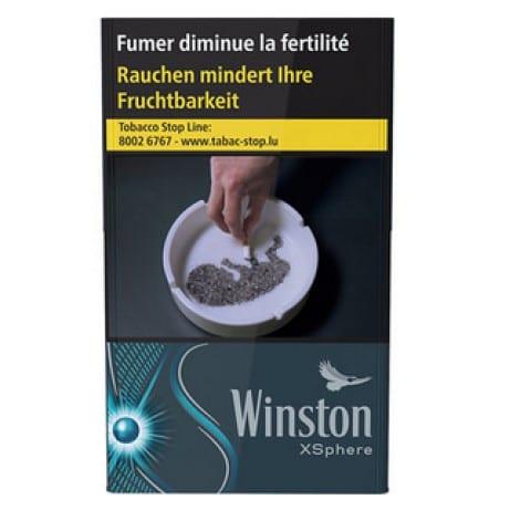 Achat de Cigarettes Winston XSphere pas chères
