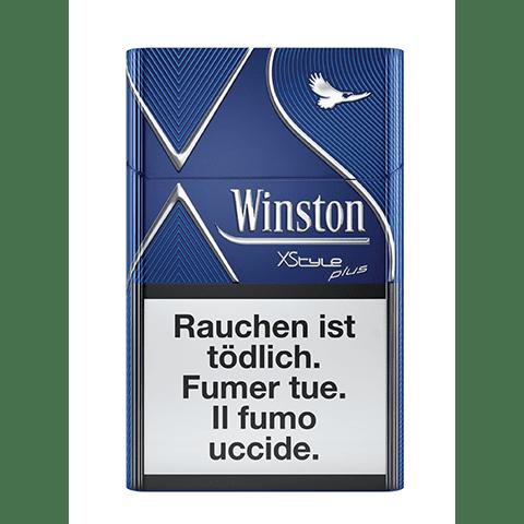 Cartouches de Cigarettes Winston XStyle bleue pas chères