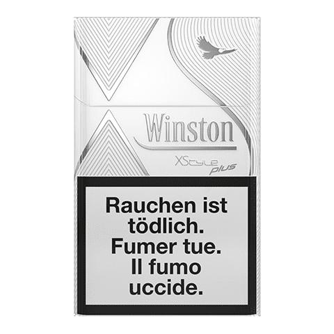 Achat en ligne Cigarettes Winston XStyle Silver